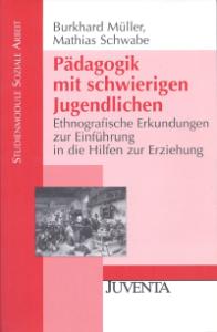 Book Cover: Pädagogik mit schwierigen Jugendlichen
