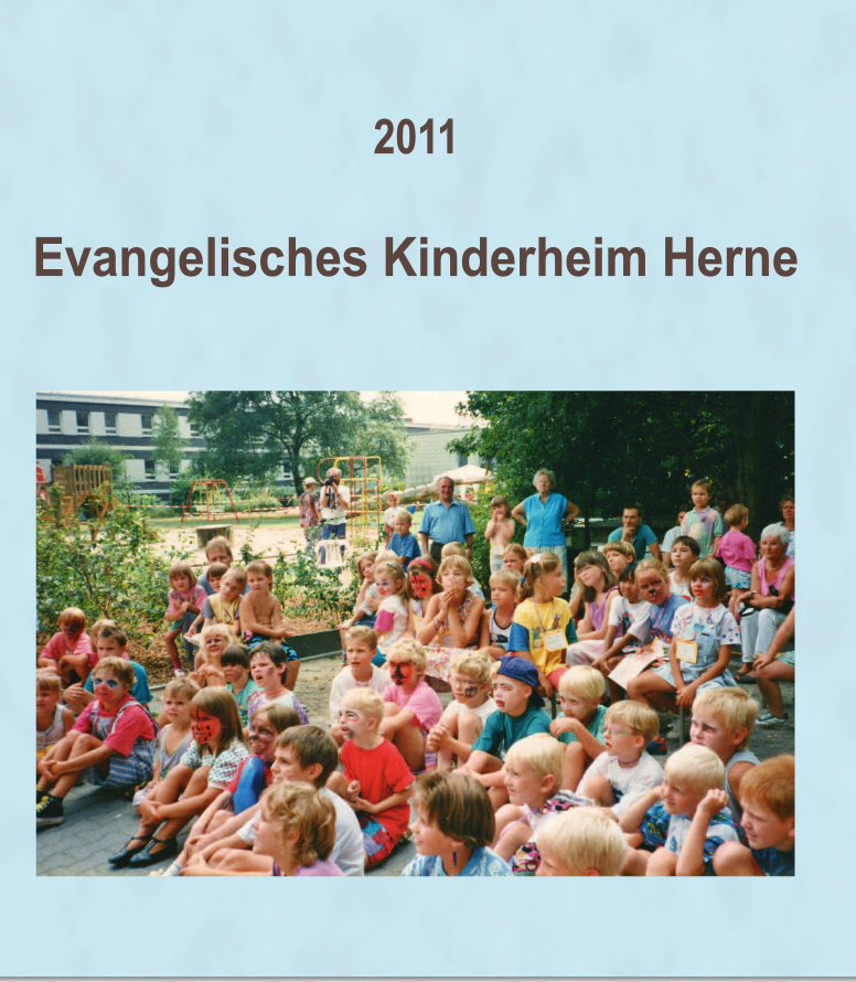 Book Cover: 2011 Evangelisches Kinderheim Herne